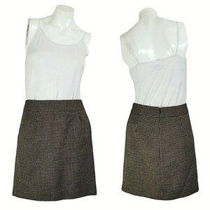 Banana Republic Brown Tweed Pencil Skirt w Pockets